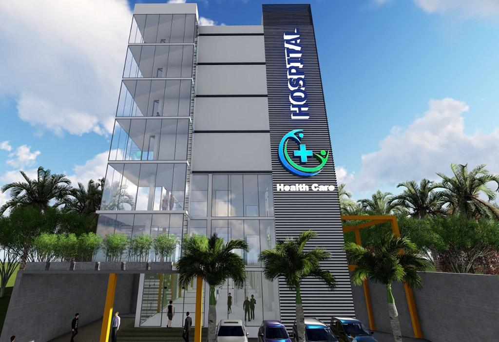Small Hospital of the Future   C+ Design Architects - Sri
